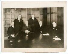 1918 Railway Wage Commission Portrait Photograph Underwood Press
