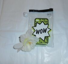 "Victoria's Secret Pink ""WOW"" iPhone 4/4S Silicone Soft Case Yellow NEW RARE"