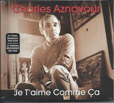 Charles Aznavour - Je T'aime Comme Ca (3CD 2009) NEW/SEALED