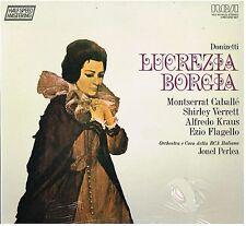 Donizetti: Lucrezia Borgia / Perlea, Caballe, Kraus, Verrett, Flagello - LP Rca