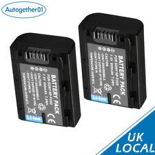 New 2x NP-FH50 Battery For SONY NP-FH50 NP-FH60 NP-FH40 NP-FH30 UK local