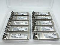 Lot of 10pcs Brocade 57-1000117-01 8GB FC 850nm SW SFP+ Fiber Optic Transceiver