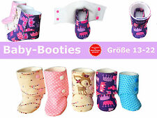 Baby-Booties/Babyschuhe nähen, Schnittmuster und Nähanleitung