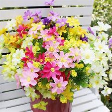 Beautiful Artificial Bunch  Fake Silk Flower Hydrangea Wedding Party Bouquet N