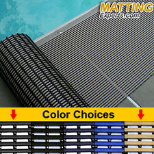 Heronrib Mat Wet Area Non-Slip Pool Shower Self Draining Floor Matting Durable