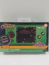 My Arcade Official GALAGA Pocket Player Mini Handheld Retro Video Game New