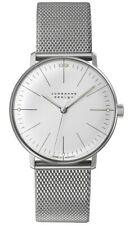 AUTHORIZED DEALER Junghans 027/3004.44 Max Bill Handaufzug White Dial Watch