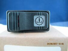 Carling Rocker Switch 4 Terminal 2 Light (Red & White) V1D1 12 Volt 20 Amps[C2S2