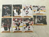 2020-21 UPPER DECK SERIES CANVAS BASE DEFENCE  LOT OF 8