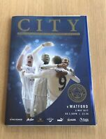 Leicester City v Watford May 2017 Premier league Programme in Mint Condition