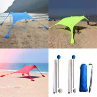 Waterproof Tent Tarp Canopy Camping Beach Sun Shelter Sunshade UV Protection