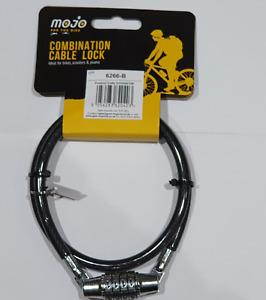 UK Bicycle Bike Cycle Lock 4 Digit Dial Code combination Security