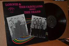 LONNIE & THE CAROLLONS MEET THE DEANS; CRYSTAL BALL MINT- DOO WOP LP; NOT ON CD