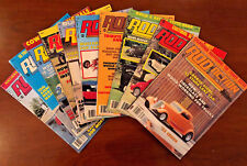Rod Action Magazines - Volume 13 - 1984 - 10 Issues