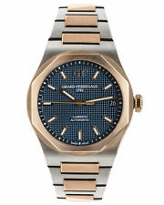 GIRARD PERREGAUX 18K ROSE GOLD/TITANIUM AUTOMATIC MEN'vS WATCH 81010-26-183426A