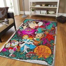 Alice in Wonderland Area Rugs / Disney Movie Living Room Carpet, Custom
