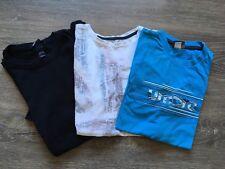 lot  3 T-shirt Manches Courtes 12/13 Ans Garçon Umbro H&M Rebel