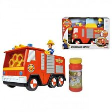 Simba Fire Truck Jupiter Firefighter Sam To Make Bubbles Kids Firefighter New