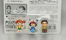 Tomy Pokemon Chibi Poke House Figure Compact Mate Mini ASH ,MISTY,BROCK