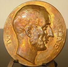 Médaille à Jules Méline président du Conseil sc Ponscarme 1892 Remiremont medal