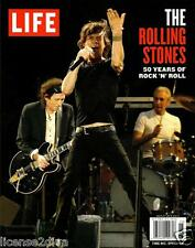 LIFE MAGAZINE THE ROLLING STONES 50 YEARS OF ROCK N' ROLL 2012 LEGENDS PAPERBACK
