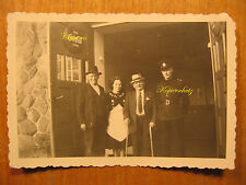 ~1950 altes Foto Werbung Trink Coca Cola eiskalt Emaille Polizist Polizei
