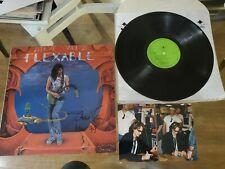 STEVE VAI Flexable LP AUTOGRAPHED Orig Second Pressing Mint-  Beautiful Vinyl