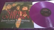 The Sisters Of Mercy ‎– Jesus Loves The Sisters RARE PURPLE VINYL LP