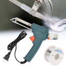 Manual Soldering Gun Electric Iron Automatic Soldering Machine Kit Tool 110 V