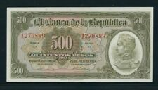 COLOMBIA BANKNOTES $500 1964 7 DIGITS