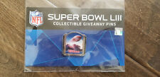 2019 Wincraft Collectible Giveaway Super Bowl 53 Liii Pin Wilson 1 Of Only 100