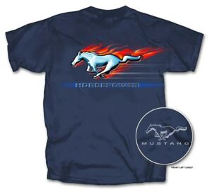 Mustang HORSEPOWER Logo Shirt. Cool Ford Shirt! Great for ANY Year Mustang Owner