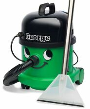 Numatic George GVE370 2 Vacuum Carpet Cleaner Hoover Wet & Dry Green A26A Kit UK