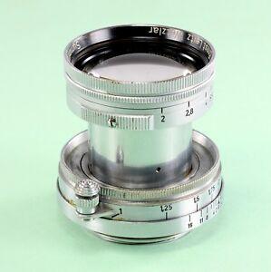 Leica Lens - Summitar 2/5 cm, #845826, in meters