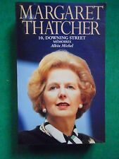 10 DOWNING STREET MÉMOIRES MARGARET THATCHER  1993 GD FORMAT ROYAUME UNI TORIES