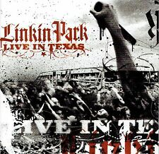 CD + DVD - LINKIN PARK - Live in texas