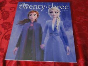 2019 Disney D23 Winter Magazine Frozen 2 Star Wars NEW