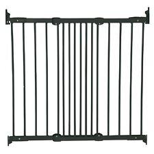 BabyDan Flexible Fit Baby Gate Diagonal Fix Stair Gate Safety Pet Gate Black