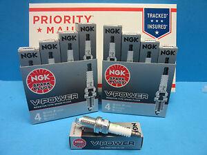 8 Spark Plugs Genuine NGK 4291 OEM # ZFR6F11 V-Power Upgrade