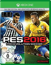 Pro Evolution Soccer 2016 -- Day One Edition (Microsoft Xbox One, 2015)