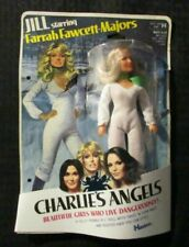 "1977 CHARLIE'S ANGELS Hasbro 8.5"" Doll Farrah Fawcett Jill MOC C-3.5"