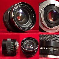 Soligor Wide Auto 24mm F2.5 MC Mount Film Camera SLR Lens Minolta Olympus Japan