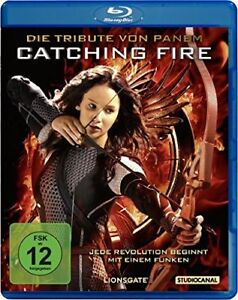 °DIE TRIBUTE VON PANEM: CATCHING FIRE° Blu-ray NEU OVP  Jennifer Lawrence
