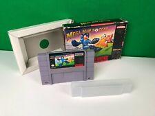 Mega Man Soccer for Super Nintendo SNES Game in Box