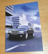 CHRYSLER 300 C TOURING BROCHURE 2008 - 3.0 V6 CRD & 6.1 SRT-8