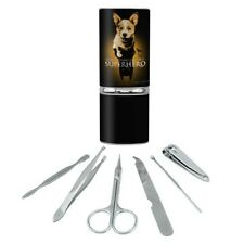 Superhero Dog Shadow Manicure Pedicure Grooming Beauty Care Travel Kit