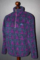 Vintage Lowe Alpine mens violet fleece jumper jacket Size M 90's