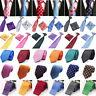 Men's Tie Paisley Solid Stripe Jacquard Silk Necktie Ties Set Party Wedding Lot