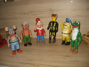 Salamander Figuren groß ca 30 cm komplett Lurchi und seine Freunde Original