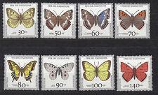 BRD, 1512 - 1519  Schmetterlinge komplett, postfrisch,  siehe Scan